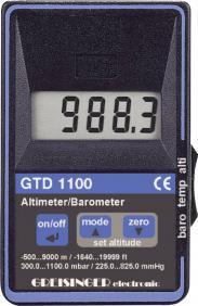 Barometru/altimetru de...