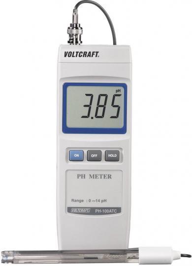 pH-metru Voltcraft PH-100 ATC