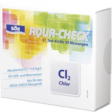 Set test clor pentru fotometru Aqua-Check, 50 teste, Söll