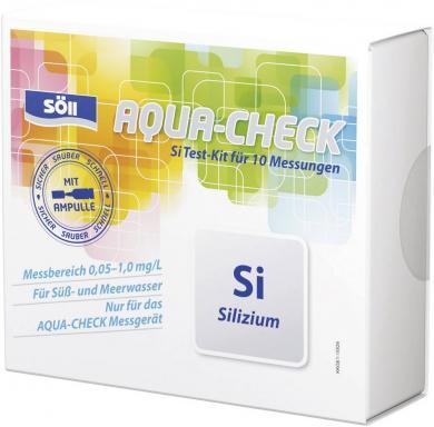 Set test siliciu pentru fotometru Aqua-Check, 10 teste, Söll