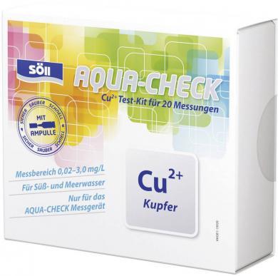Set test cupru pentru fotometru Aqua-Check, 20 teste, Söll