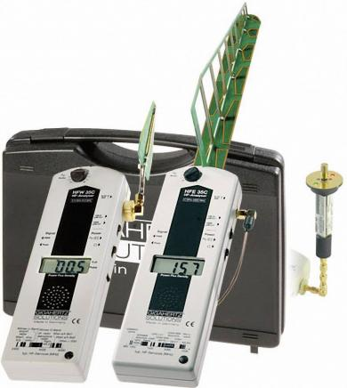 Set analizor electrosmog frecvenţe înalte Gigahertz Solutions HFEW35C, 27 MHz - 6 GHz