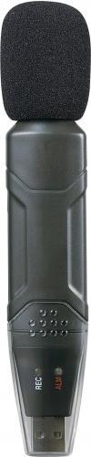Sonometru cu colector date USB Voltcraft DL-161S