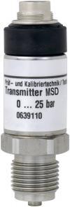 Senzor presiune absolută 0 la 4000 mbari, Greisinger MSD 4 BAE