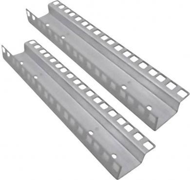 """Set şină rack 19"""" pentru 6U, gri, 2 buc., EFB Elektronik 691671"""