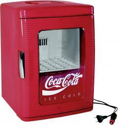 Mini-frigider/cooler pentru party 23 l, 12 V/230 V, roşu, Ezetil MF25