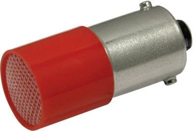 Bec led, soclu BA9s, 110 V AC/DC, 0,22 W, 0,4 lm, roşu, CML 18824120