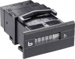 Contor de ore de funcţionare 12-24 V/DC, 0 - 99.999,99 h, IP65, Bauser 262.2
