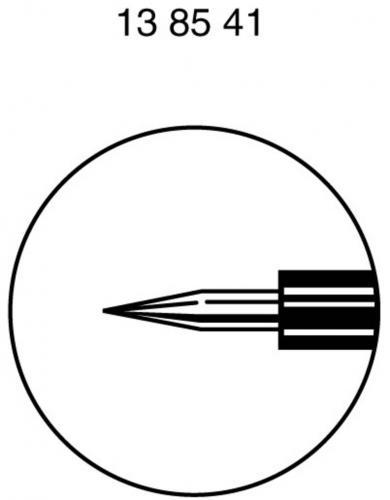 Set sonde Hirschmann SKS PRUEF 2, 4 mm, negru și roșu