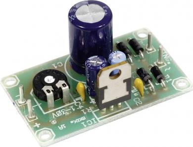 Placă circuit pentru regulator tensiune LM 317-T (TO-220)