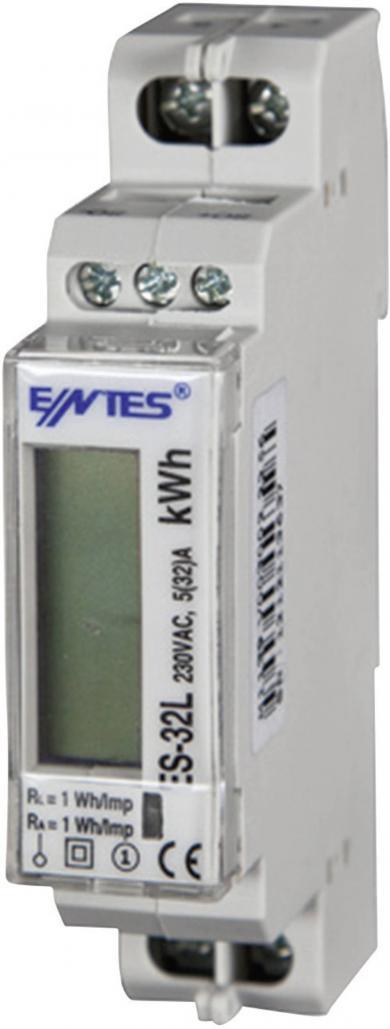 Contor digital curent monofazat Entes ES-32L MID, 32 A