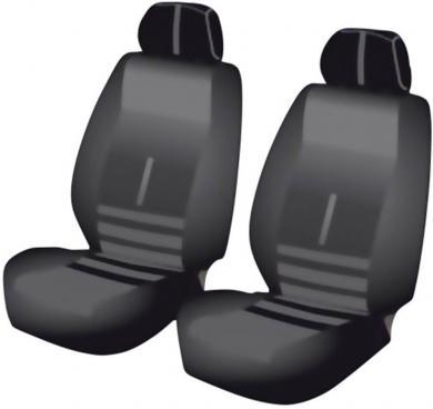Set 2 huse universale scaun auto faţă, 6 piese, Unitec Twin