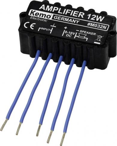 Modul amplificator 12 W, 6-16 V/DC