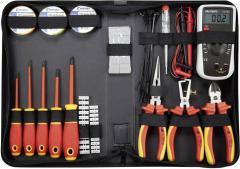 Trusă scule VDE pentru electricieni Toolcraft, 50 piese