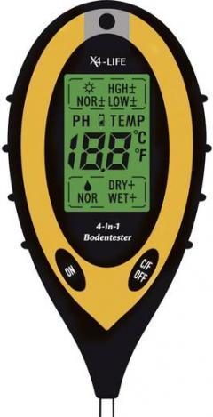 Tester pH şi umiditate sol, X4-Life