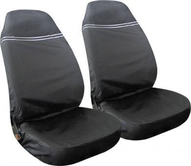 Set 2 huse de protecţie scaun auto pentru atelier, poliester, Eufab