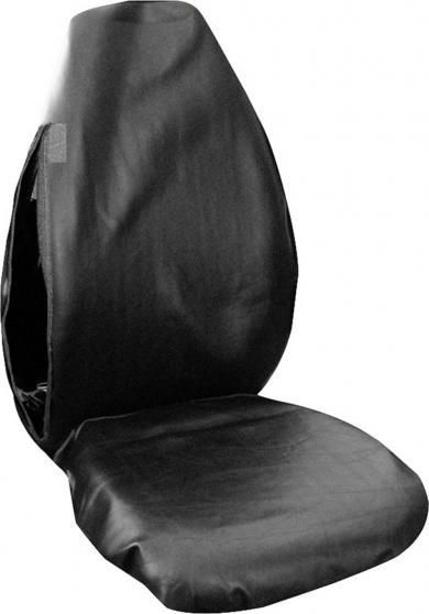 Husă de protecţie scaun auto pentru atelier, piele sintetică, Eufab
