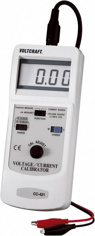 Calibrator de curent şi tensiune Voltcraft CC-421