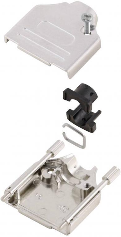 Conector D-SUB, 9 pini, 180°, MH Connectors MHDTZK9-DM9P-K