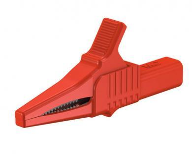Clemă crocodil MultiContact XKK-1001, 4 mm, roşu, 1000 V