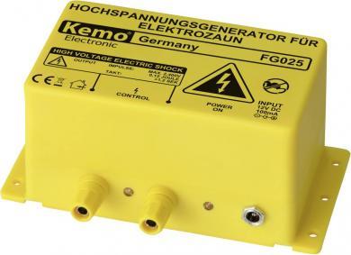 Generator de curent de înaltă tensiune pentru garduri electrice, Kemo FG025