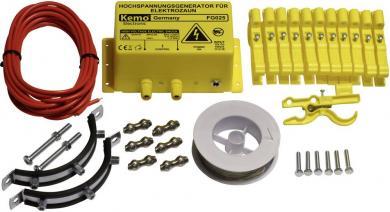 Set gard electric pentru alungarea jderilor, Kemo FG025Set
