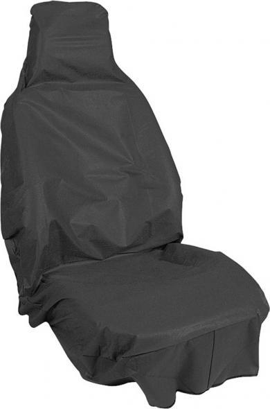 Husă de protecţie scaun auto pentru atelier, negru, APA