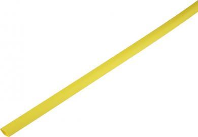 Tub termocontractabil cu pereți subțiri 2:1, 1,0/0,6 mm, galben
