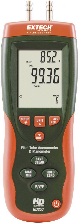 Anemometru cu tub Pitot Extech HD350