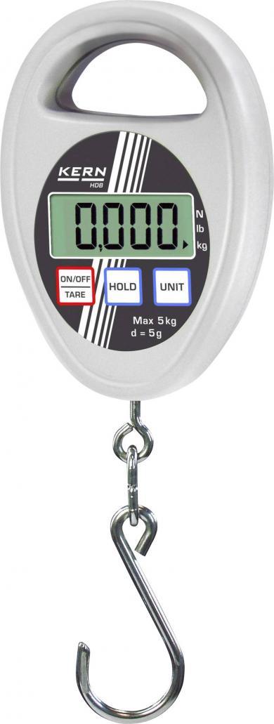 Cântar tip cârlig Kern HDB 5K5, 5kg