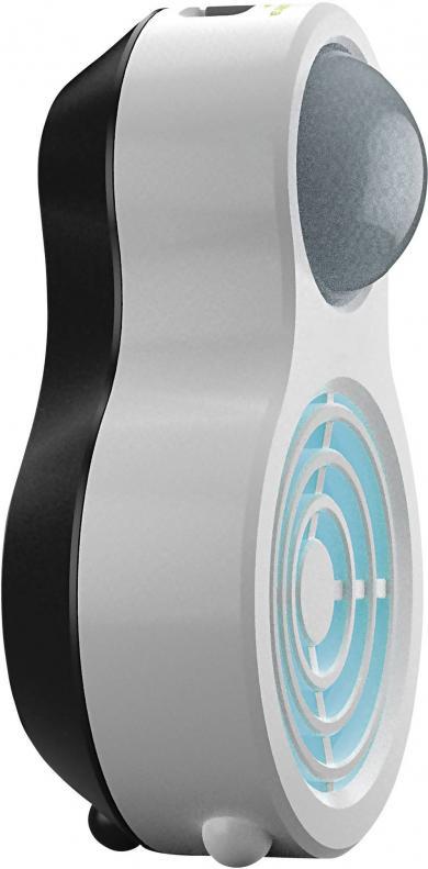 Aparat portabil cu ultrasunete şi senzor PIR pentru alungarea câinilor şi pisicilor, Isotronic HK1