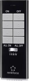 Telecomandă 12 canale, negru, Renkforce RS2W