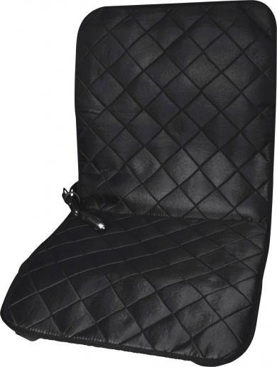 Husă scaun cu încălzire 12 V, 1 treaptă de încălzire, negru, HP Autozubehör