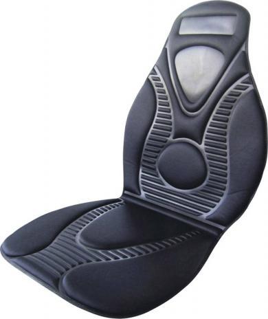 Husă scaun cu încălzire 12 V, 2 trepte de încălzire, negru, HP Autozubehör