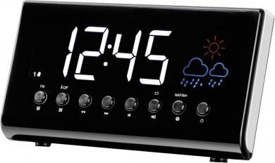 Radio cu ceas deșteptător, afișarea temperaturii și prognoză meteo, Denver CR-718