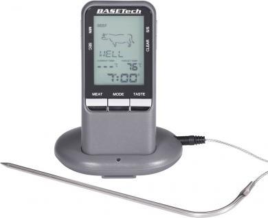 Termometru wireless pentru grill Basetech BK-BBQ, 0 la 250 °C