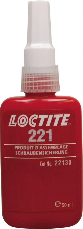 Adeziv pentru asigurarea şuruburilor, 50 ml, Loctite 221