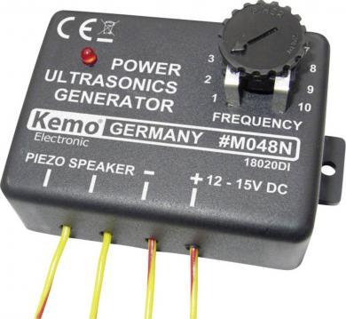 Generator ultrasunete împotriva rozătoarelor, şobolanilor, şoarecilor, iepurilor, jderilor, ţânţarilor şi păsărilor 12 - 15 V
