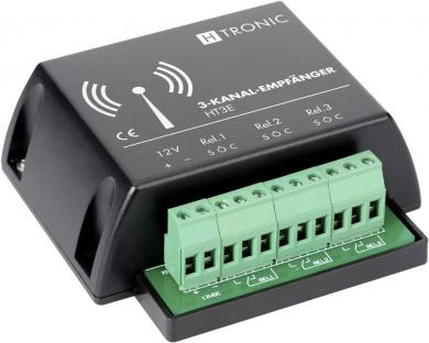 Receptor wireless 3 canale, 200 m, 868,35 MHz, H-Tronic HT3E