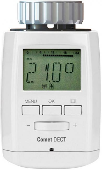 Termostat wireless de calorifer Eurotronic Comet DECT pentru Fritz!Box
