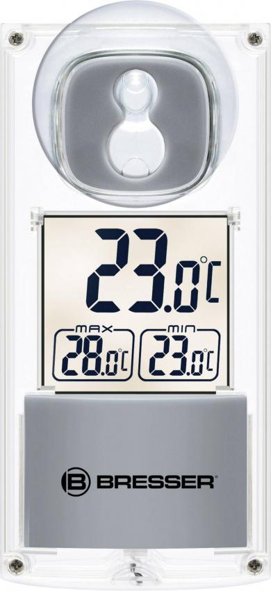 Termometru de fereastră solar cu ventuză Bresser 7030100