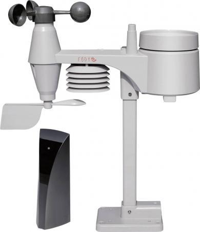 Stație meteo wireless Fody Tempus Pro E41, negru