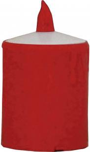 Lumânare decorativă led, roşu