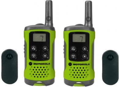 Staţie emisie-recepţie PMR Motorola TLKR T41, verde, set 2 buc.