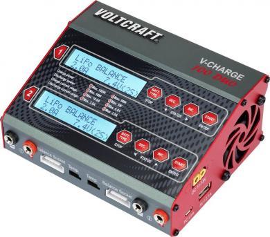 Încărcător multifuncţional acumulatori modelism Voltcraft V-Charge 100 Duo, 12 V, 230 V