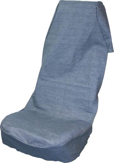 Husă universală scaun auto, bumbac/denim