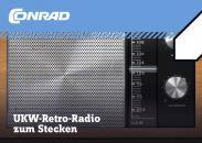 Kit radio retro FM Conrad...