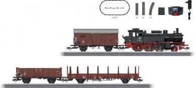 Set locomotivă cu aburi şi vagoane de marfă H0, Märklin 29074