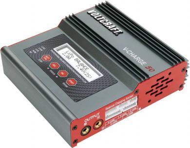 Încărcător multifuncţional acumulatori modelism Voltcraft V-Charge 50, 12 V, 230 V