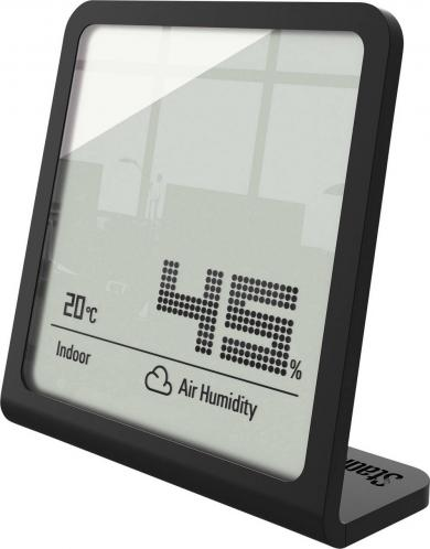Termohigrometru digital Selina, negru, Stadler Form